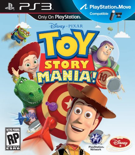 Toy Story Mania for PS3 Move (Best Ps3 Story Games)