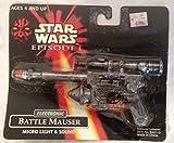 Star Wars Episode 1 Electronic Battle Mauser Micro Light & Sound