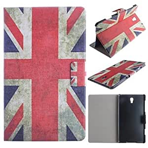 GJY National Flag Pattern PU Leather Full Body Case with Card for Samsung Galaxy Tab S 8.4 T700