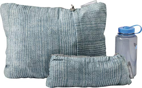 Therm-a-Rest Compressible Travel Pillow for Camping, Backpacking, Airplanes and Road Trips, Clover, Large - 16 x 23 Inches