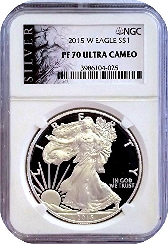 2015 W American Eagle $1 PR-70 NGC