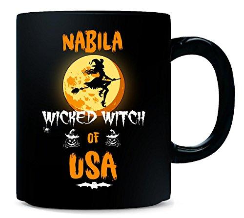 Nabila Wicked Witch Of Usa. Halloween Gift - -