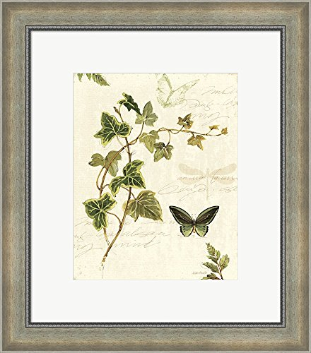 ivies-and-ferns-iv-by-lisa-audit-framed-art-print-wall-picture-silver-scoop-frame-18-x-20-inches