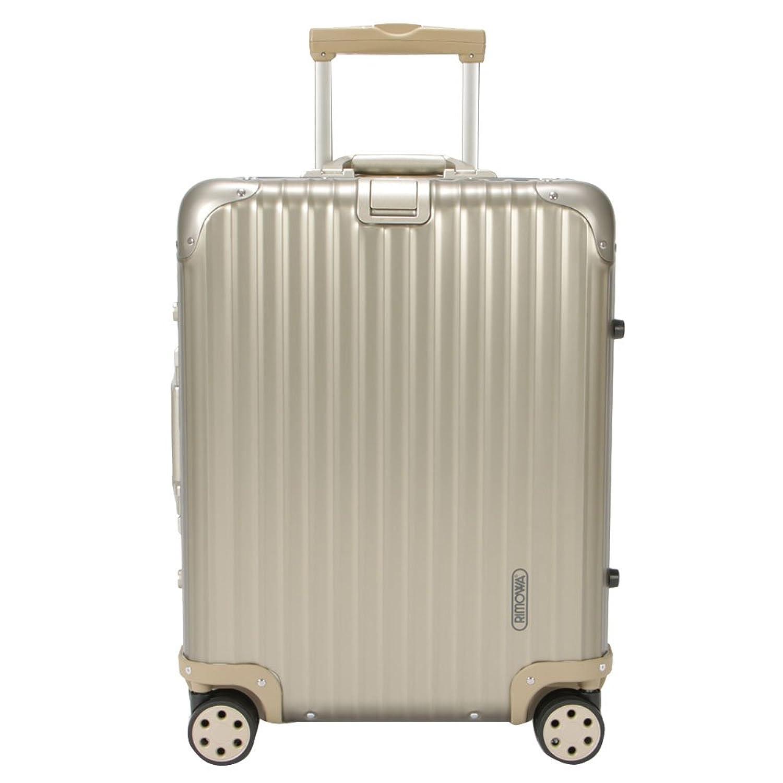 RIMOWA [ リモワ ] トパーズ チタニウム 945.56 94556 Topas Titanium マルチホイール チタンゴールド (シャンパンゴールド) スーツケース 4輪 45L (920.56.03.4) [並行輸入品] B0076T8VTA