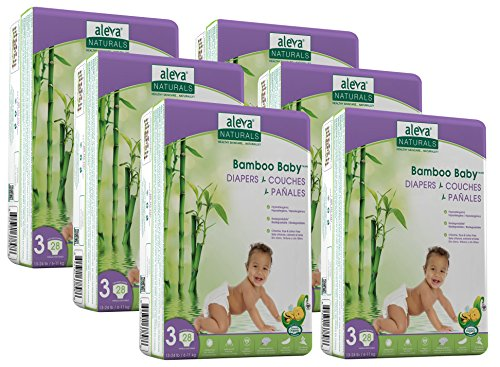 Aleva Naturals Bamboo Baby Diapers Economy Pack, Size for sale  Delivered anywhere in Canada