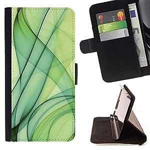 - Green Smoke/ Personalizada del estilo del dise???¡¯???¡Ào de la PU Caso de encargo del cuero del tir???¡¯????n del s - Cao - For Samsung Galaxy A3