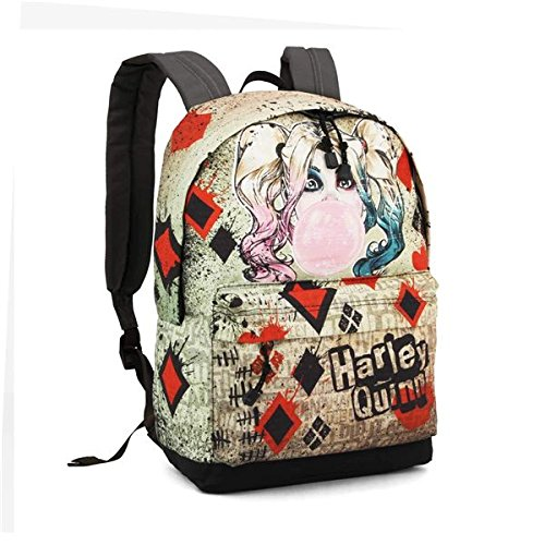 DC Comics Harley Quinn Mad Love backpack 42cm: Amazon.es: Oficina y papelería