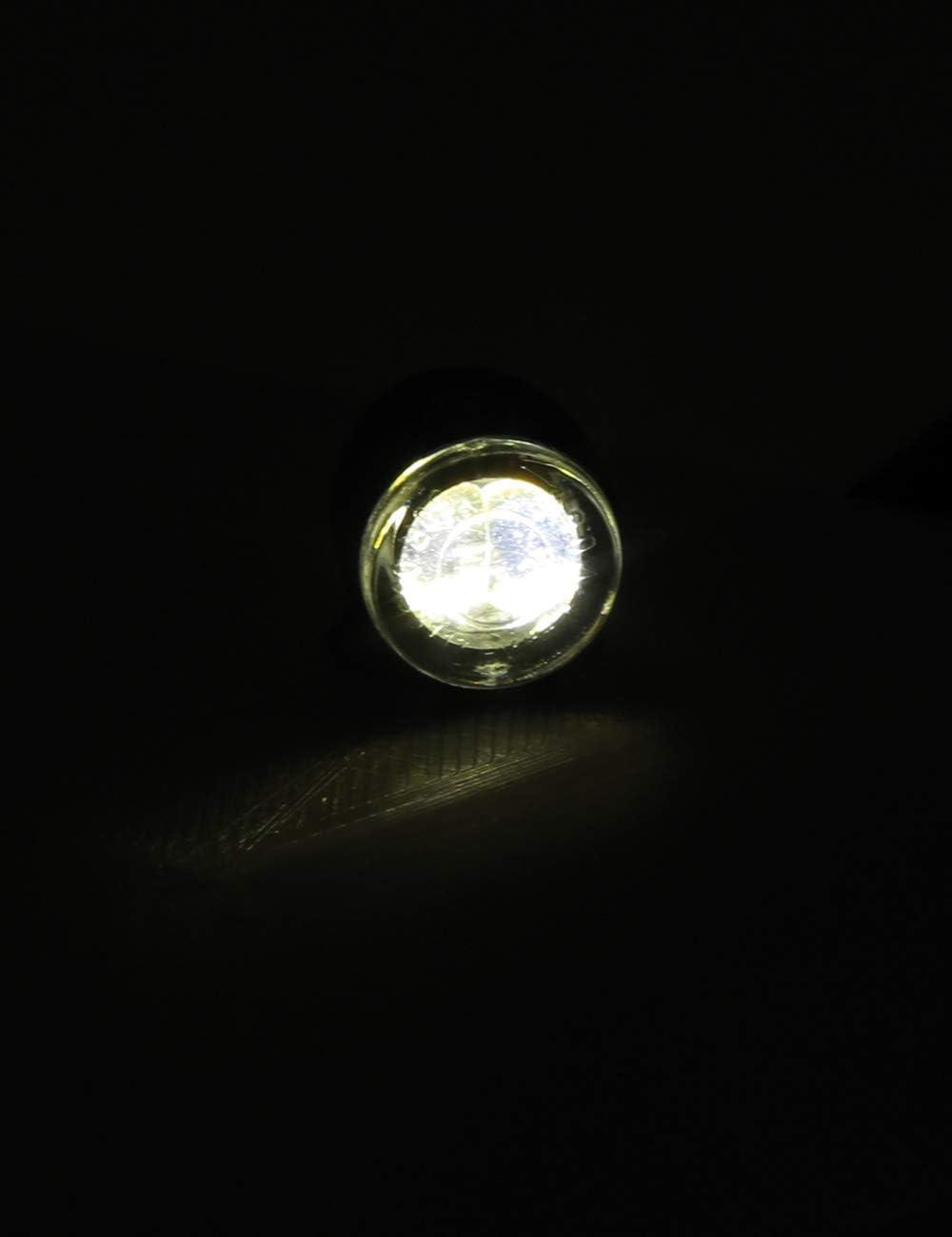 2er Pack HIGHSIDER Proton Two Motorrad LED Positionslicht E-gepr/üft