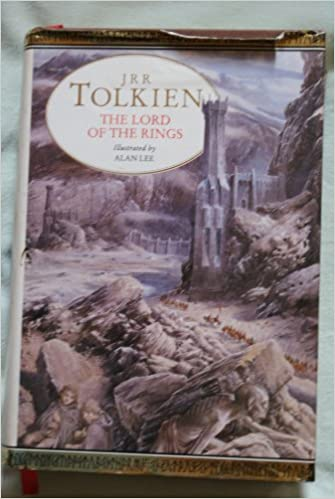 The Lord Of The Rings Illustrated By Alan Lee Amazon Co Uk Jrr Tolkein Books