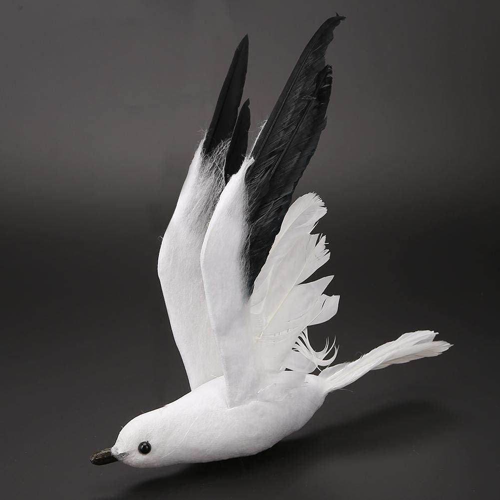 White Seagull Artificial Birds Fake Feathered Foam Birds Feather Birds Home Tree Party Decoration Craft Artificial White Seagull