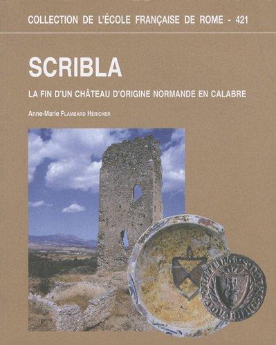 Download scribla. la fin d'un chateau d'origine normande en calabre PDF