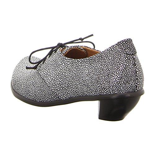 Tracey Neuls Denis Oreo - Zapatos de cordones de Piel para mujer Oreo