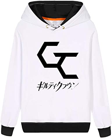 Guilty Crown Sudadera Algodón de Moda Manga Larga Suéter de los ...