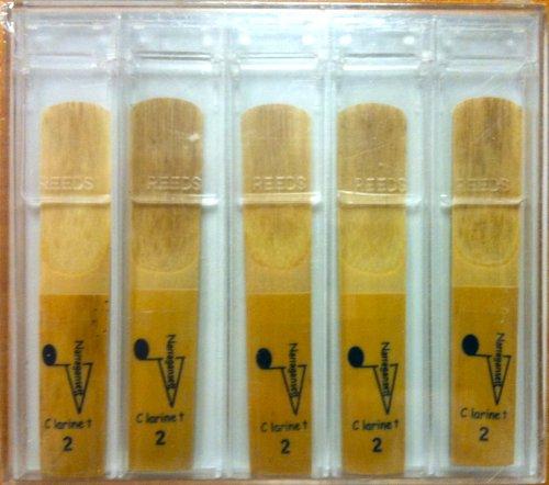 UPC 681165535257, Narragansett Clarinet Reeds - 5 Pack, Size 2.5