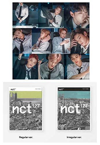 NCT 127 Vol.1 Regular-Irregular [Regular+Irregular Ver.] 1st Album Set 2CD + 2 Official Posters