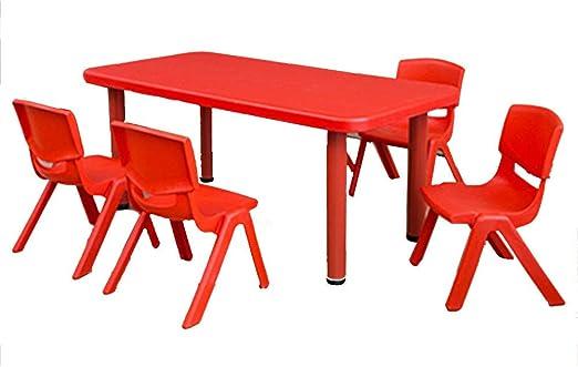 Mesas Y Sillas para NiñOs - Juguetes Rectangulares/Mesa De ...