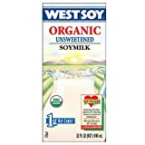 Westsoy Unsweetened Westsoy 32 Oz (Pack of 12)