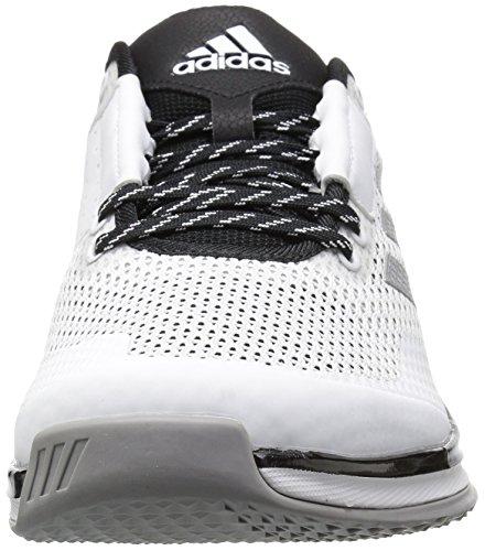 adidas Herren Speed �?.0 Cross-Trainer Schuhe Weiß / Metallic Silber / Schwarz