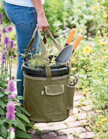 Gardeners Puddle-Proof Bucket Tote