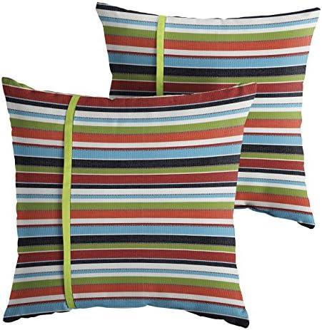 Mozaic AMPS112206 Indoor Outdoor Sunbrella Square Pillows