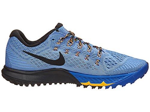Nike W Air Zoom Terra Kiger 3, Zapatillas de Running para Mujer Azul (Chalk Blue / Black-Racer Blue)