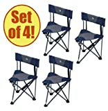 Set of 4 – GCI QUIK-E-SEAT Stool with Padded Back