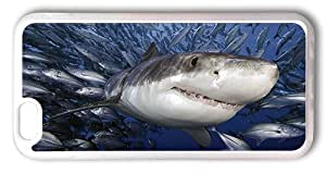 iPhone 6 Cases 4.7inch, Great White Shark Case for iPhone 6 4.7inch - TPU Transparent