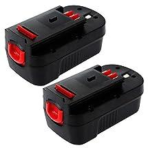 Powermall Enegitech  Battery For Black & Decker 18V 3.0Ah HPB18-OPE (Pack of 2)