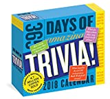 365 Days of Amazing Trivia! Page-A-Day Calendar 2018