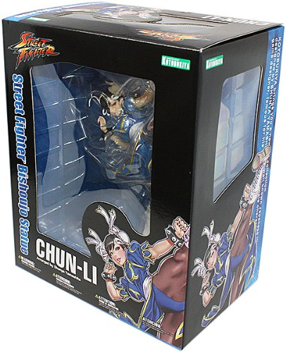 - Kotobukiya Street Fighter Chun-Li Bishoujo Statue