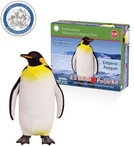 Smithsonian E-Z Build Puzzle - Emperor - Penguin 3d