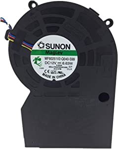 SUNON MF80251V2-Q040-S99 DC 12V 6.63W, DC Blower, Double Ball Cooling Fans, Genuine Original Equipment Manufacturer (OEM) Parts