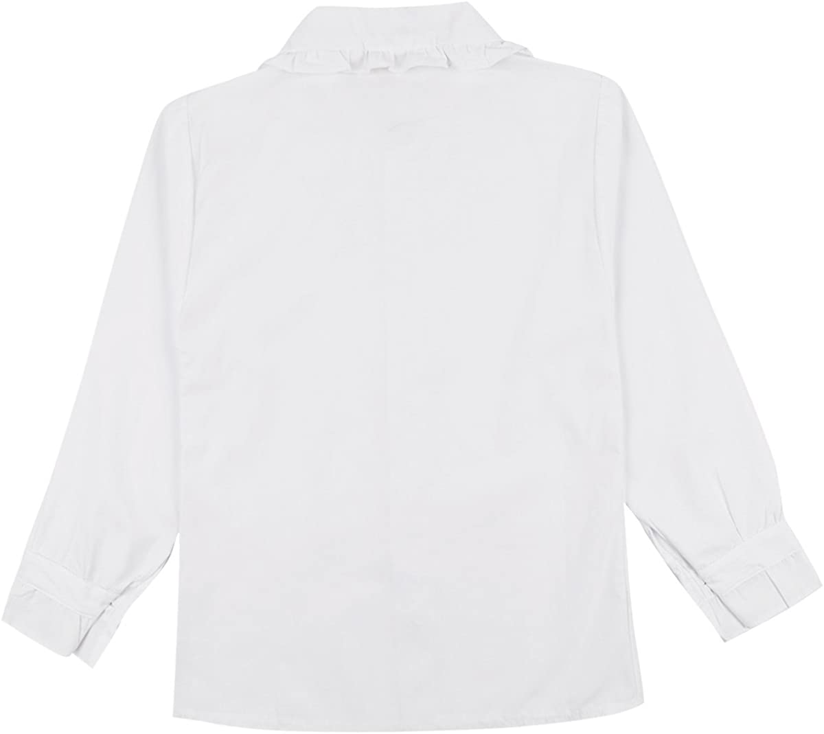 iiniim Blusa Blanca Niña Niño Camisa Oxford Mangas Largas Algodón Top de Uniforme Escolar Ropa Diaria Casual para Niños 4-13 Años: Amazon.es: Ropa y accesorios
