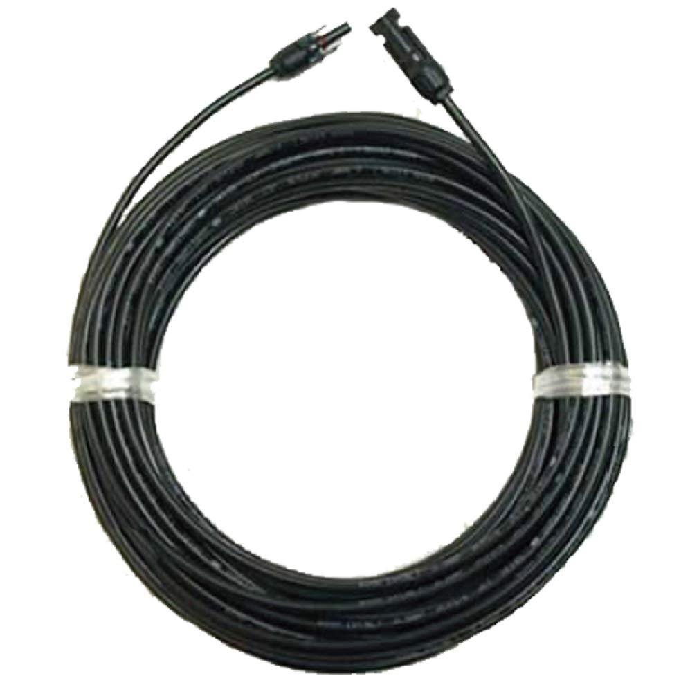 ソーラーケーブル延長ケーブル80m(MC4型コネクター付 両端 1本)ESCO PVケーブル 3.5sq-H-CV600用 太陽光パネル   B00K81C8OC