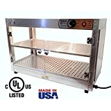 HeatMax 30x15x20 Commercial Food Warmer, Heated Display, Concession Stand Merchandiser