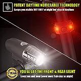BLITZU Gator 320 USB Rechargeable Bike Light Set