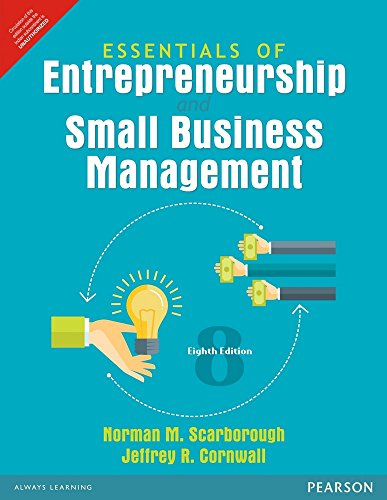 Essentials of Entrepreneurship and Small Business Management 8th edition
