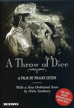 Amazon.com: A Throw of Dice: Seeta Devi, Himansu Rai, Charu Roy, Franz  Osten: Movies & TV