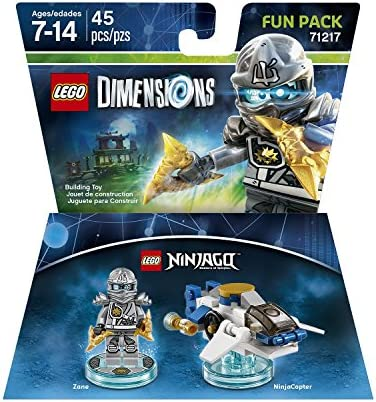 Ninjago Zane Fun Pack - LEGO Dimensions by Warner Home Video - Games: Amazon.es: Juguetes y juegos