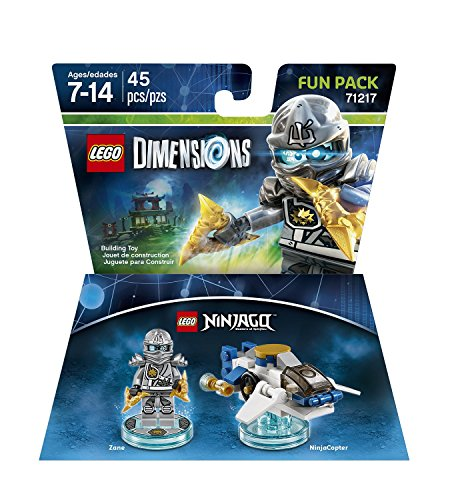 Ninjago Zane Pack not machine specific product image