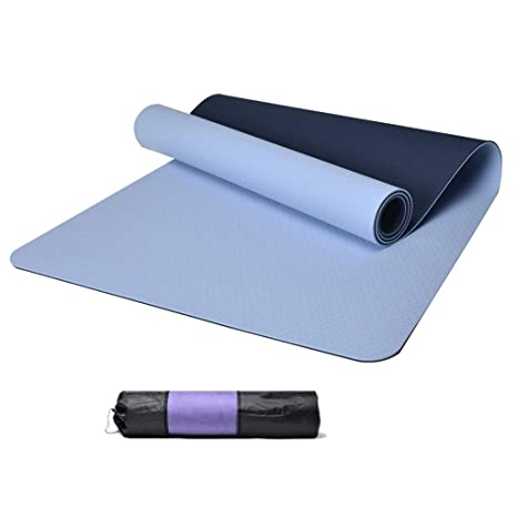 Amazon.com : YJYDD Yoga Mat, Exercise Mat 6/8 Mm Pilates ...