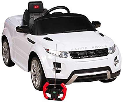 5e457f0e0017 Image Unavailable. Image not available for. Color: RastarUSA Range Rover  Evoque Battery Operated/Remote Controlled Ride on Car ...