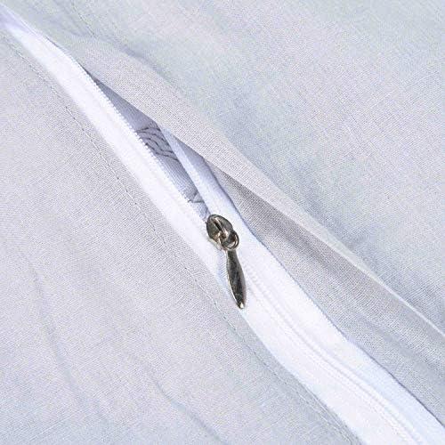 Unimall Colcha para Cama 150 de 250*270 cm y 2 Funda de Almohada ...