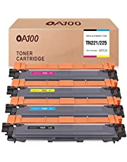OA100 Compatible Toner Cartridge Replacement for Brother TN221 TN225 TN-221 TN-225 for MFC-9330CDW HL-3170CDW MFC-9130CW (Black, Cyan, Magenta, Yellow, 4-Pack)