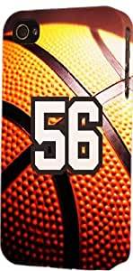 Basketball Sports Fan Player Number 56 Snap On Flexible Decorative iphone 6 4.7 Case