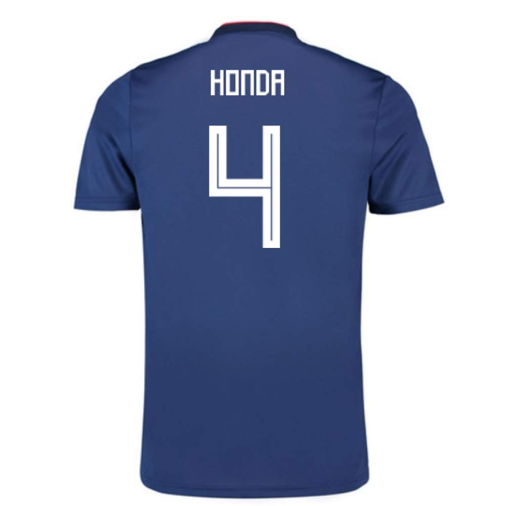 2018-19 Japan Home Football Soccer T-Shirt Trikot (Keisuke Honda 4) - Kids