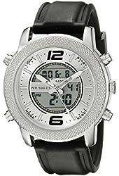 Geneva Men's FMDJM516 Analog-Digital Display Quartz Black Watch