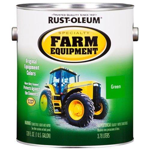 RUST-OLEUM 7435402 Gallon John Deere Green Bright Enamel Paint