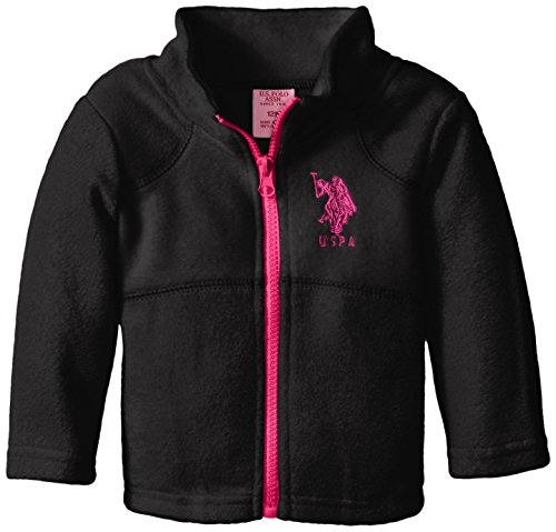 U.S. Polo Assn. Baby Girls' Polar Fleece Jacket