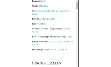 Amazon com: Pisces Zodiac Sign: Appstore for Android